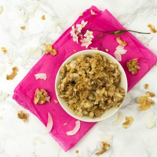 Sweet Coconut Brittle Chips