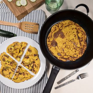 Anja's Farinata – Chickpea Pancakes with 3 Variations